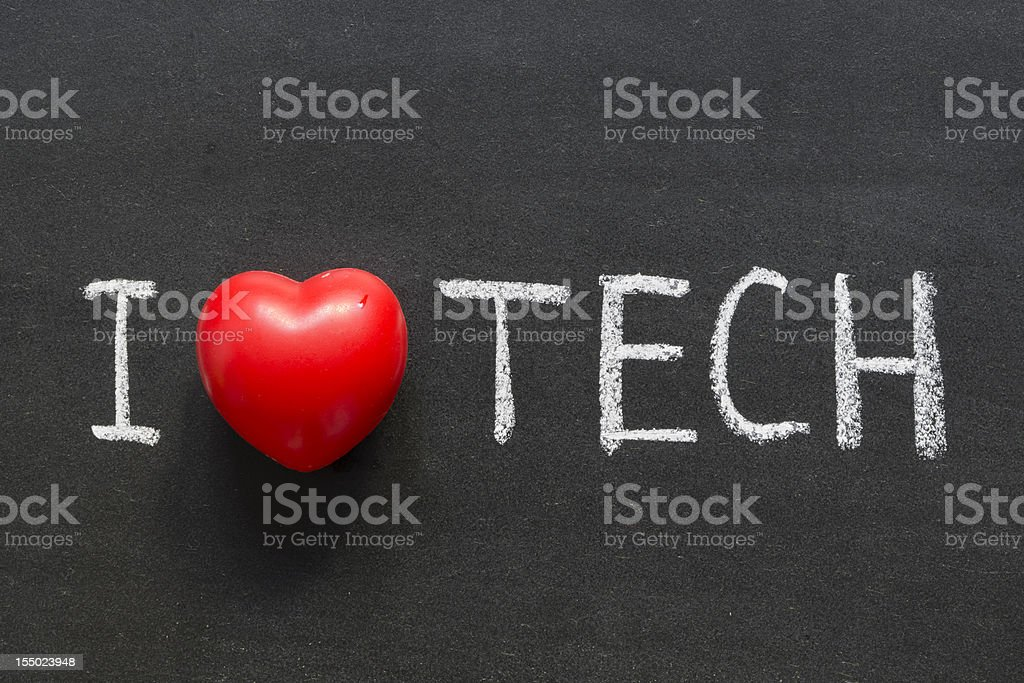 love tech royalty-free stock photo