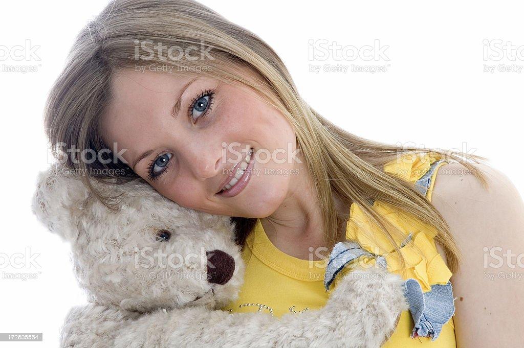 I Love Teddy 2 royalty-free stock photo