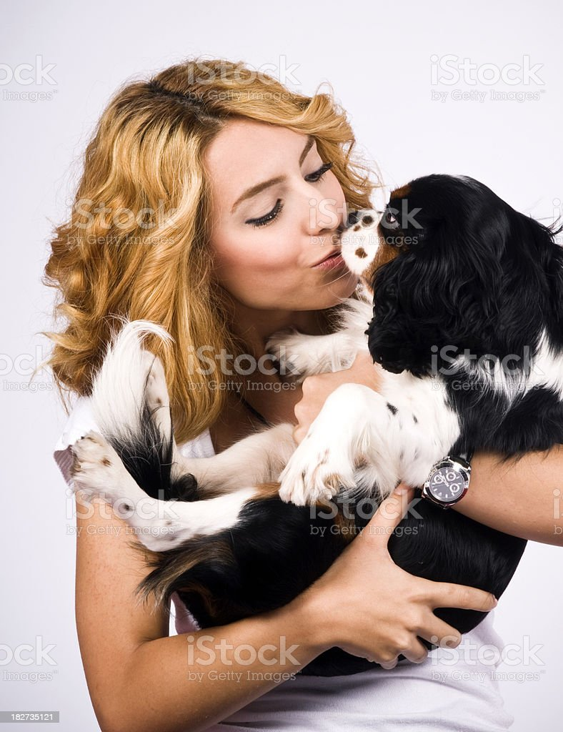 Love the dog royalty-free stock photo