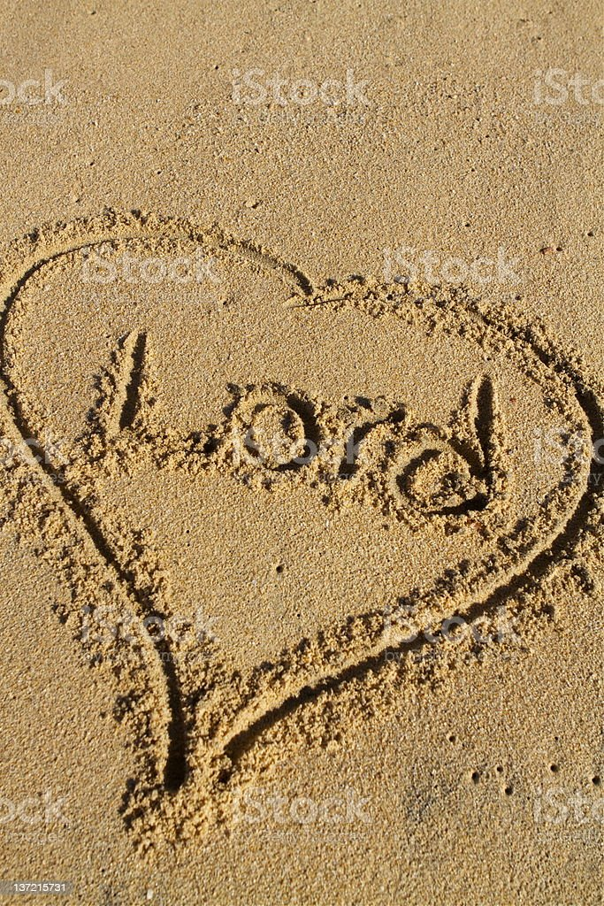 Love the Lord royalty-free stock photo