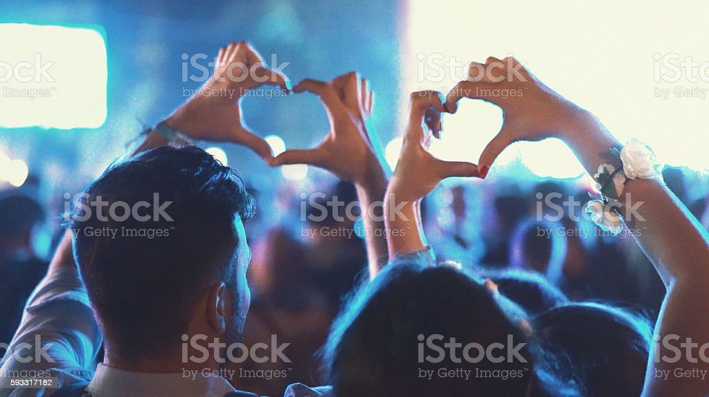Love the music. stock photo