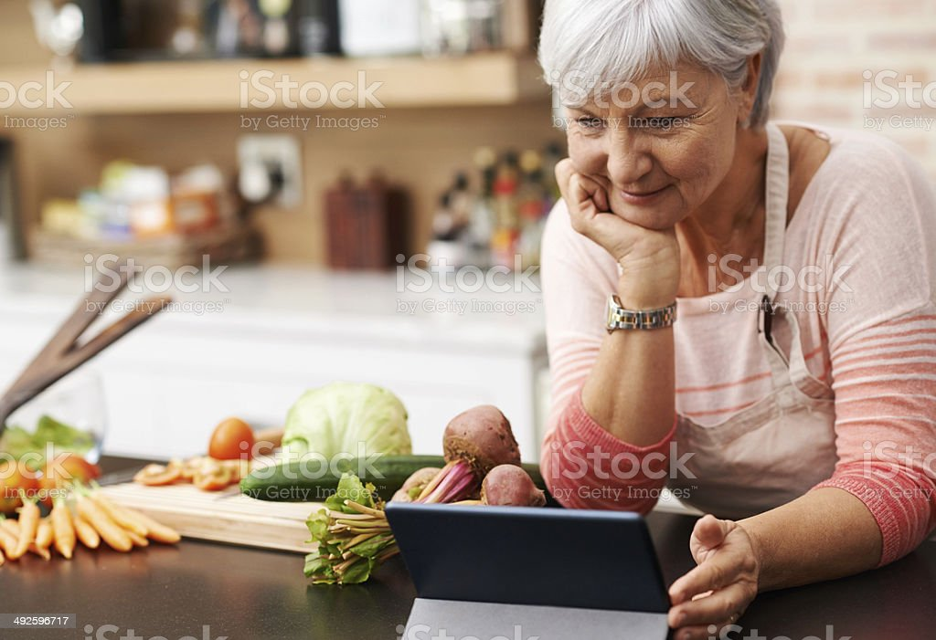 I love these cooking channels stock photo