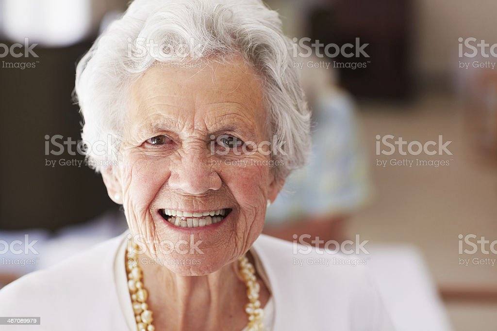 I love this retirement village royalty-free stock photo