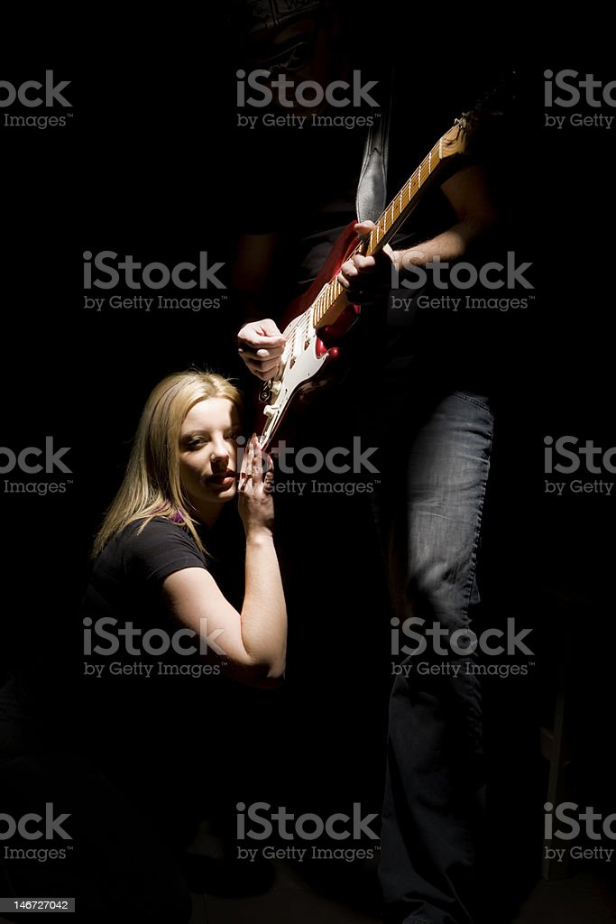 I love this song stock photo