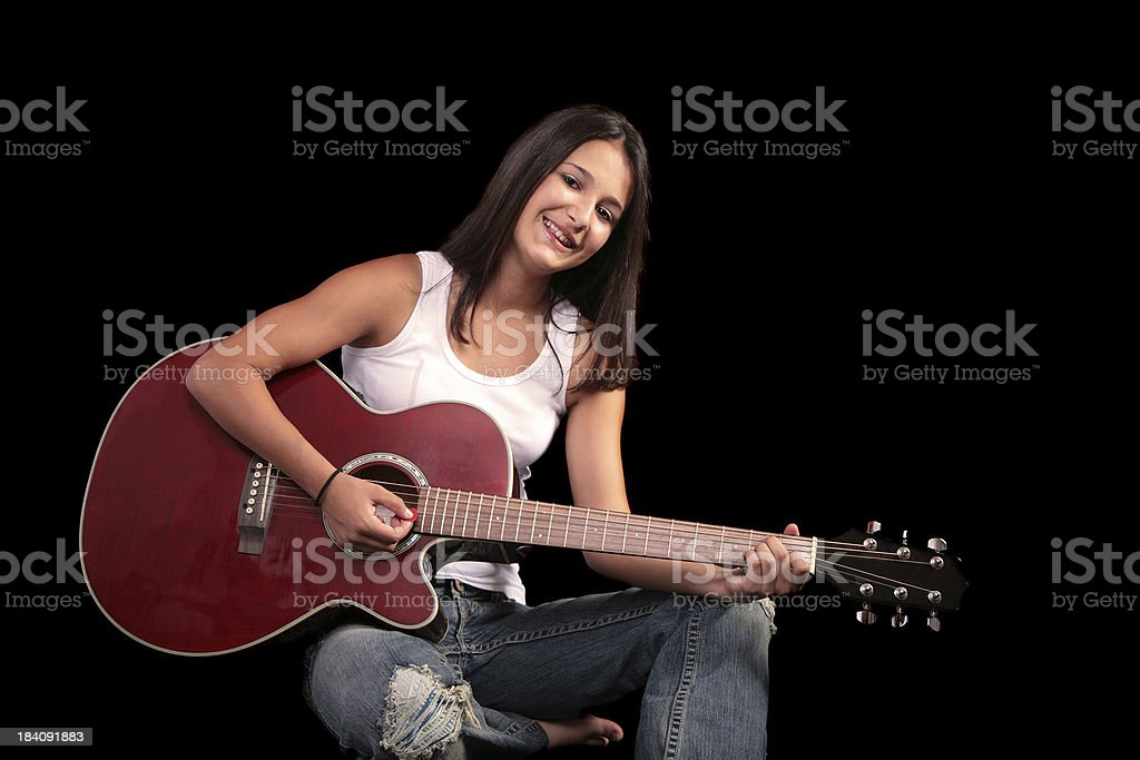 I Love This Song royalty-free stock photo
