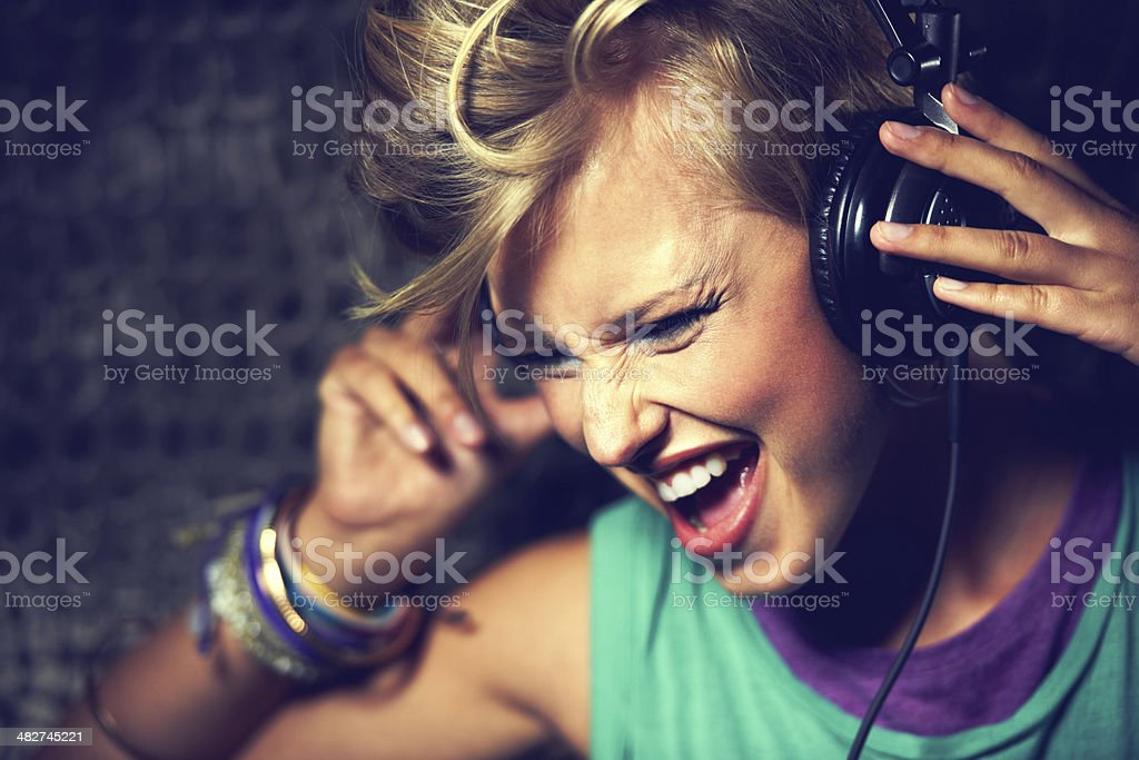 I love this song!!!!! stock photo