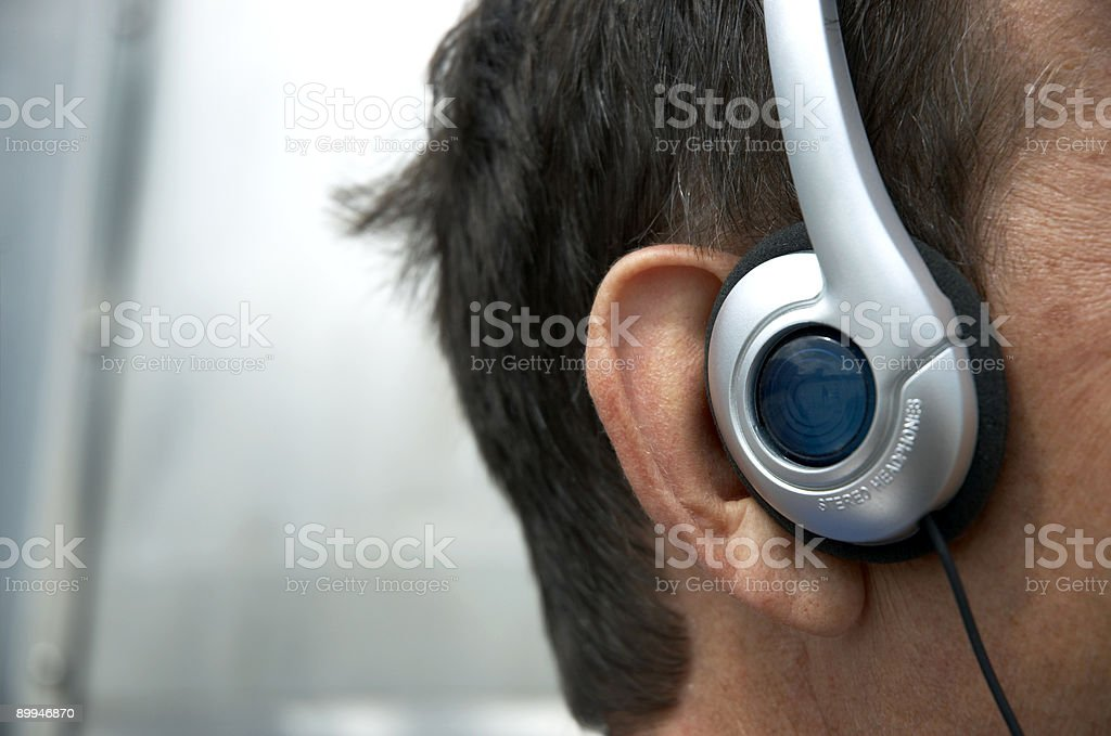 I love this song! stock photo