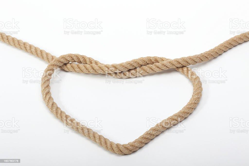 Love tied stock photo
