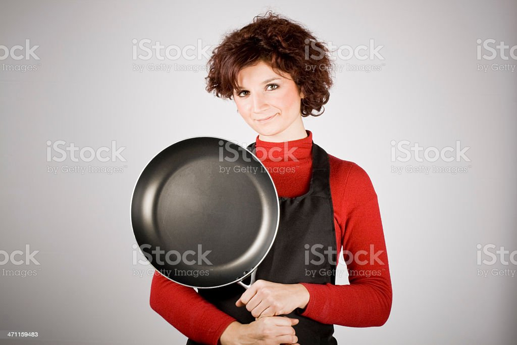 I love to cook! stock photo