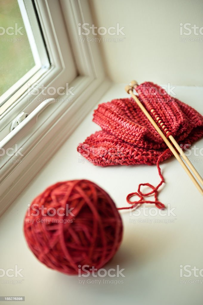 Love to Knit stock photo