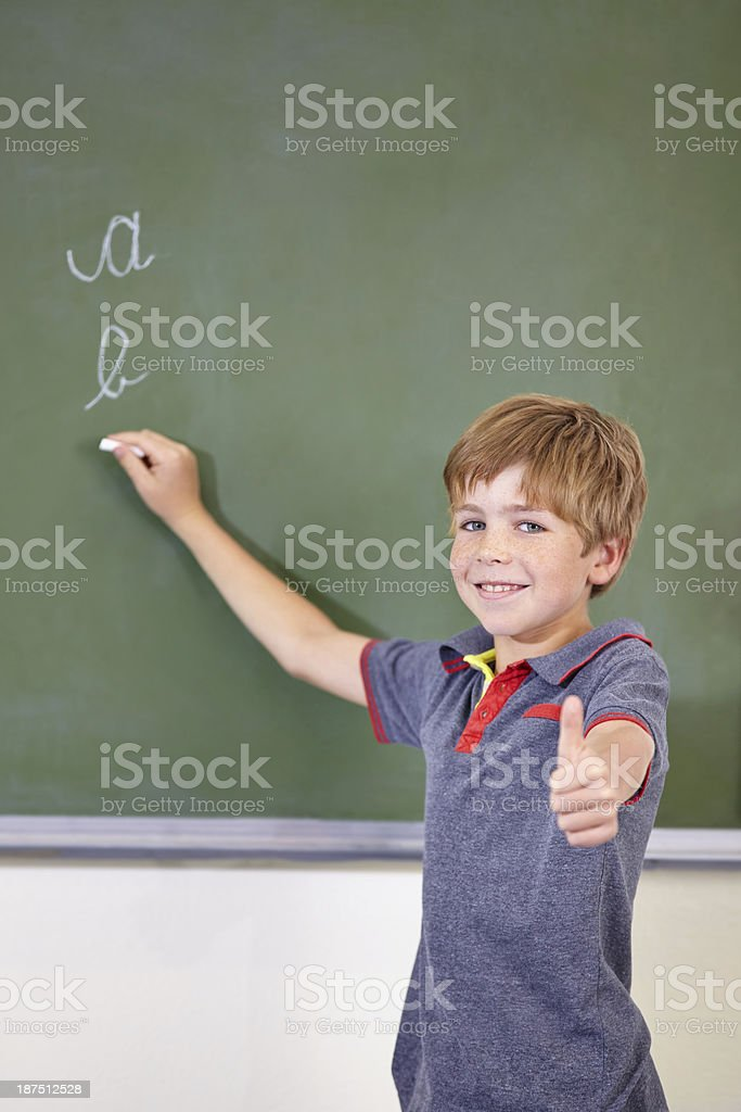 I love to learn! royalty-free stock photo