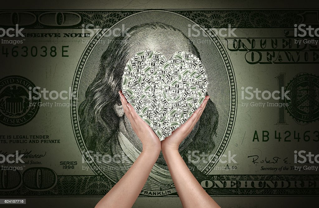 love to make money stock photo