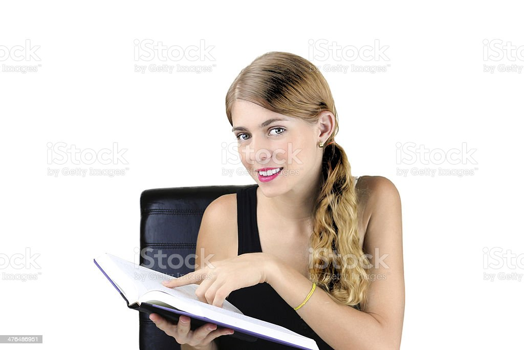Love to Read royalty-free stock photo