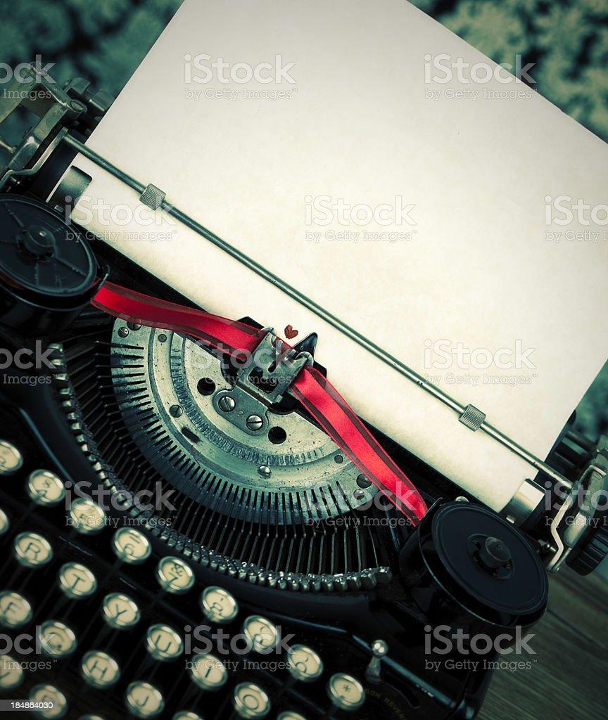 Love to Write royalty-free stock photo