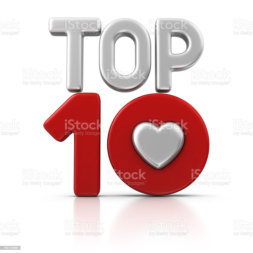 love top ten royalty-free stock photo