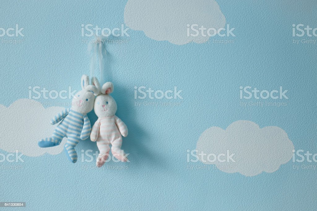 Love toys and heart stock photo