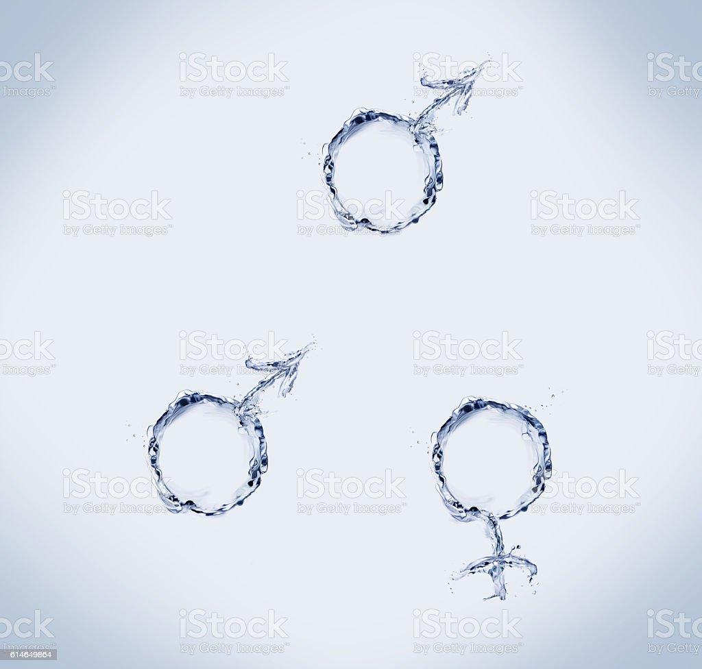 Love Triangle royalty-free stock photo