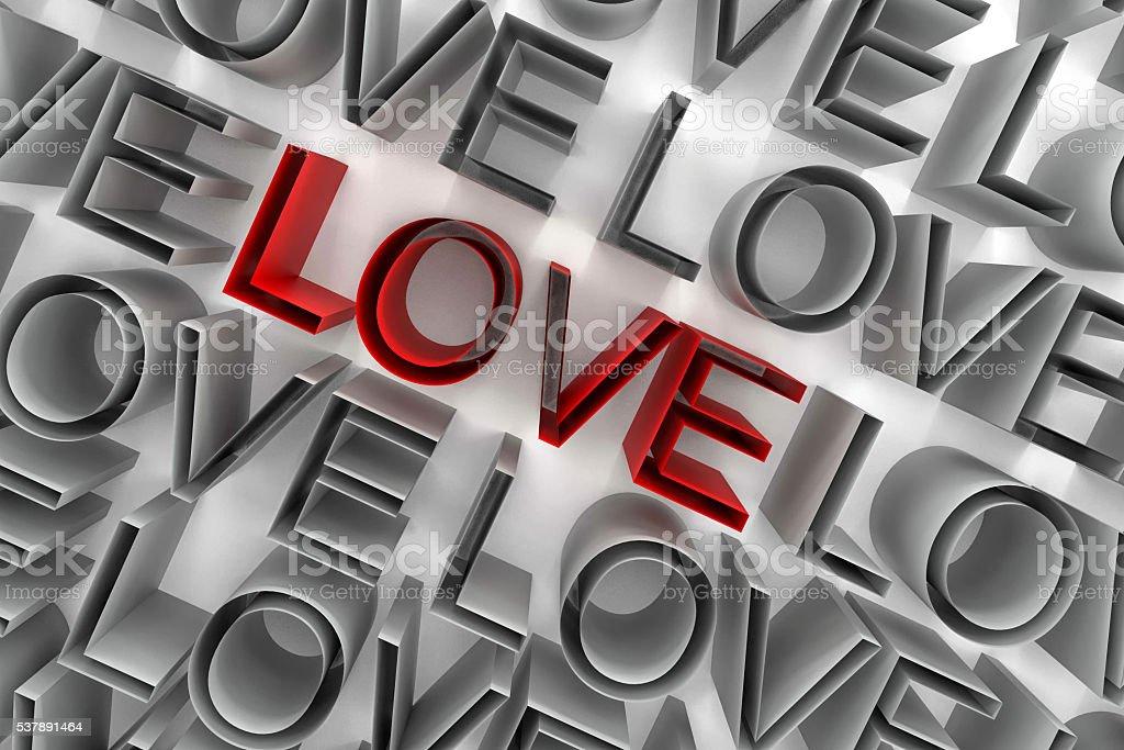 Love valentine day background stock photo