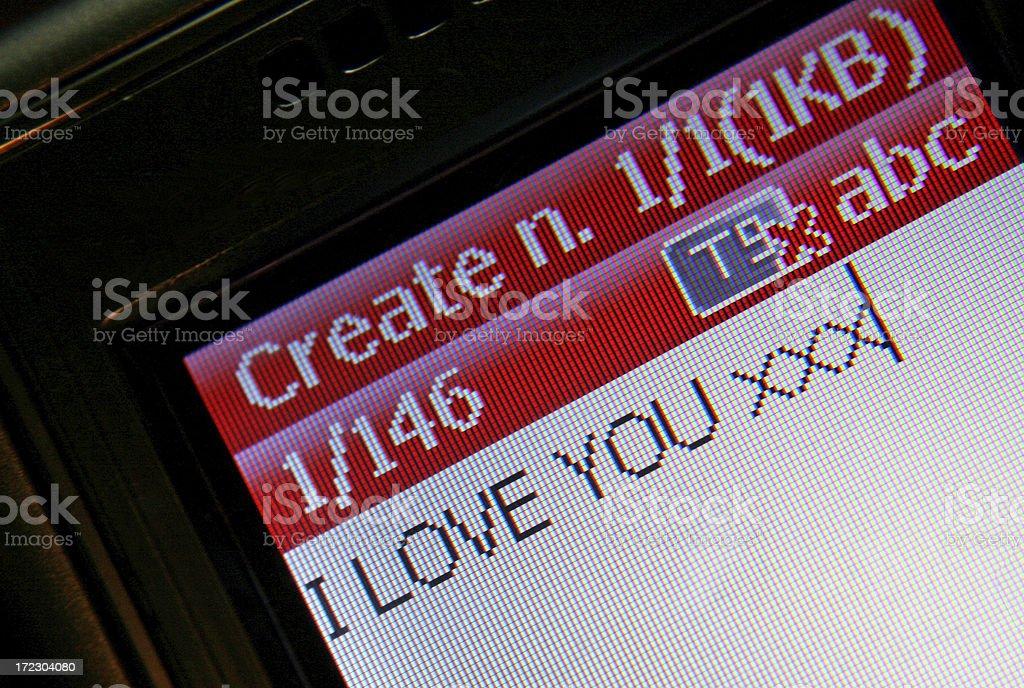 Love valentines royalty-free stock photo