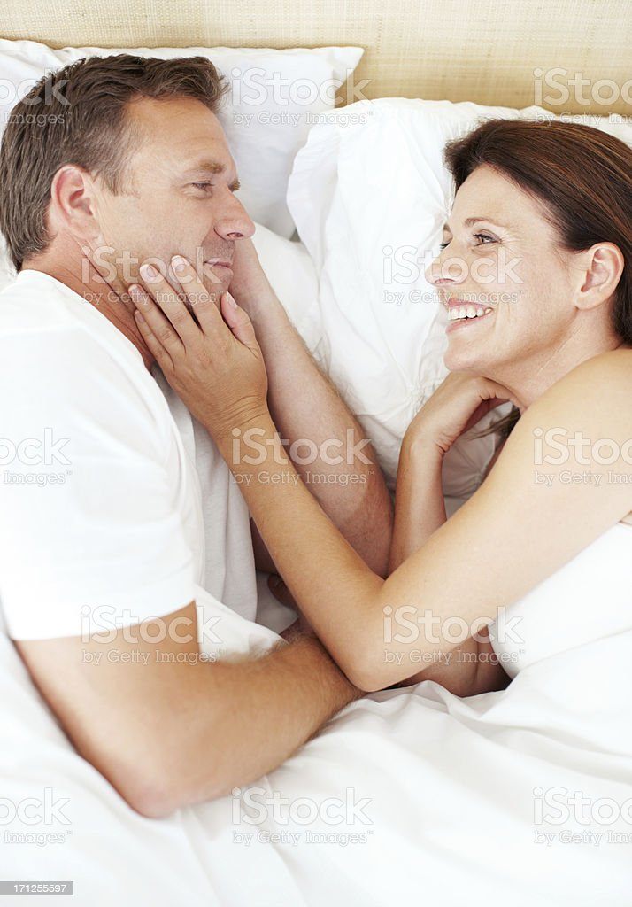 I love waking up next to you royalty-free stock photo