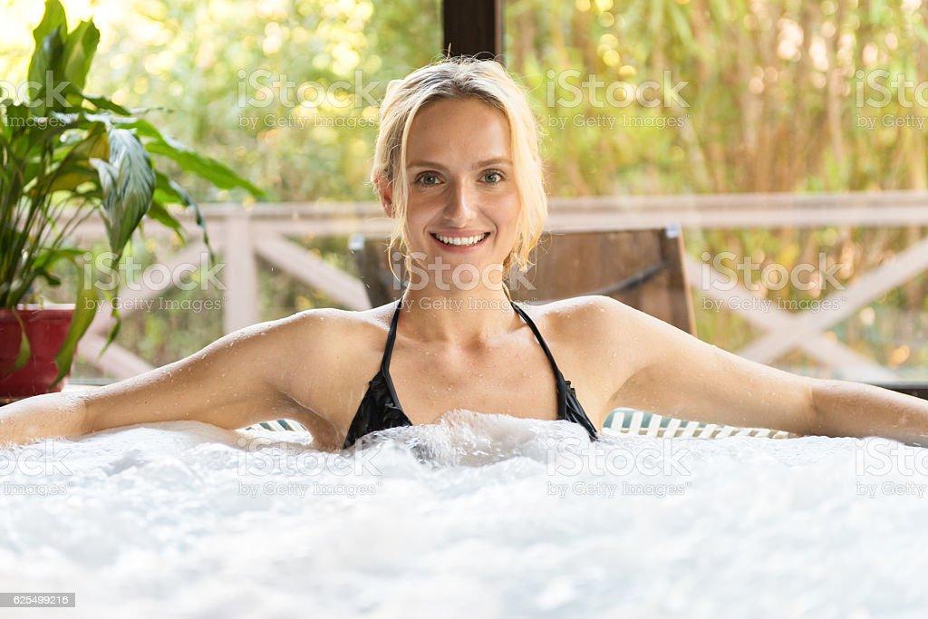 I love wellness spa ! stock photo
