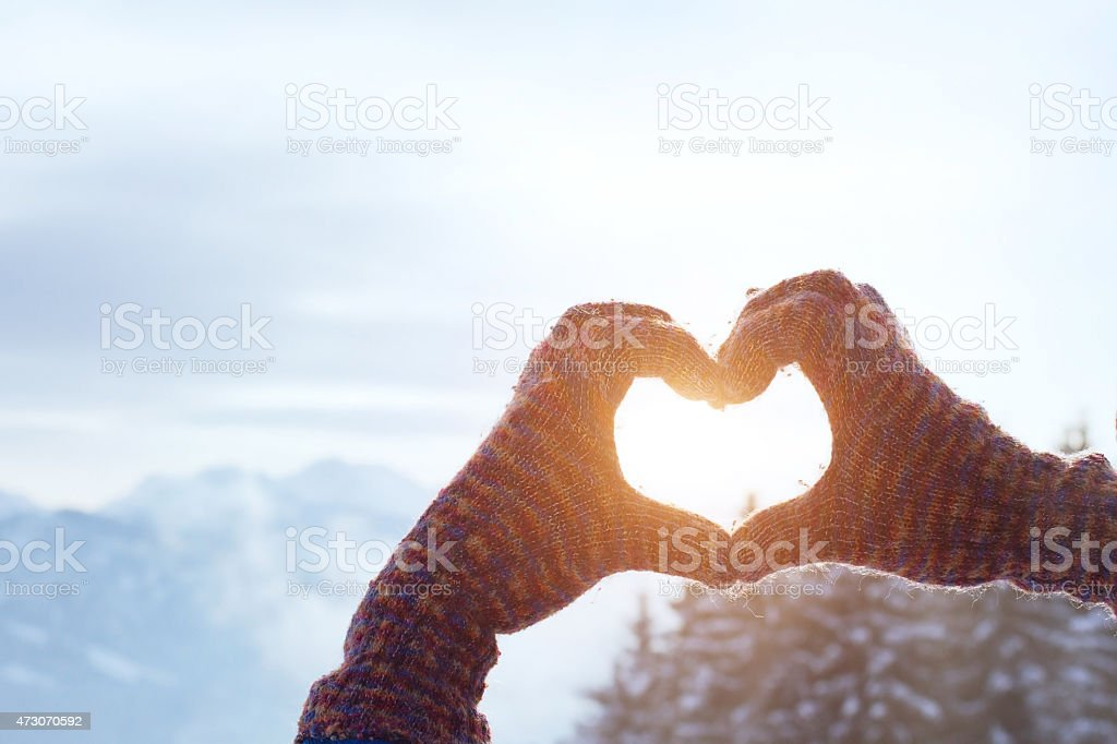 love winter stock photo
