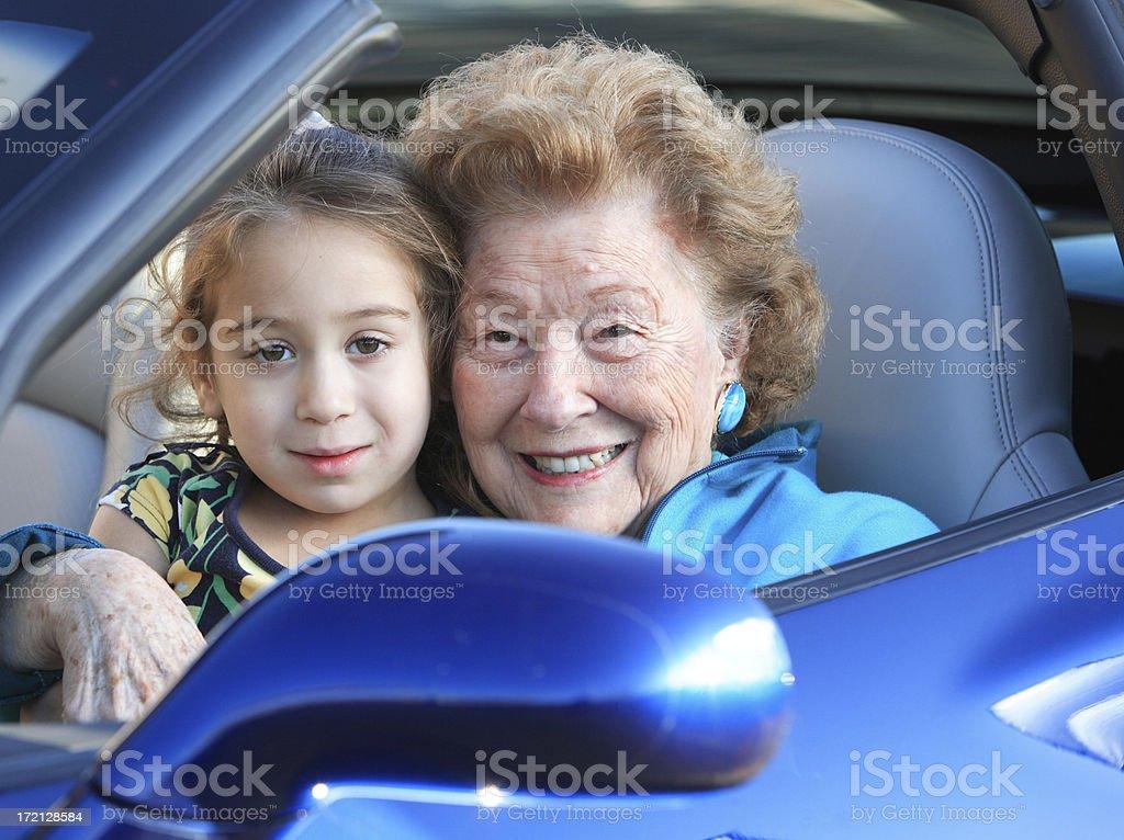 Love with Grandma royalty-free stock photo
