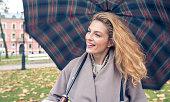 I love with rainy days!