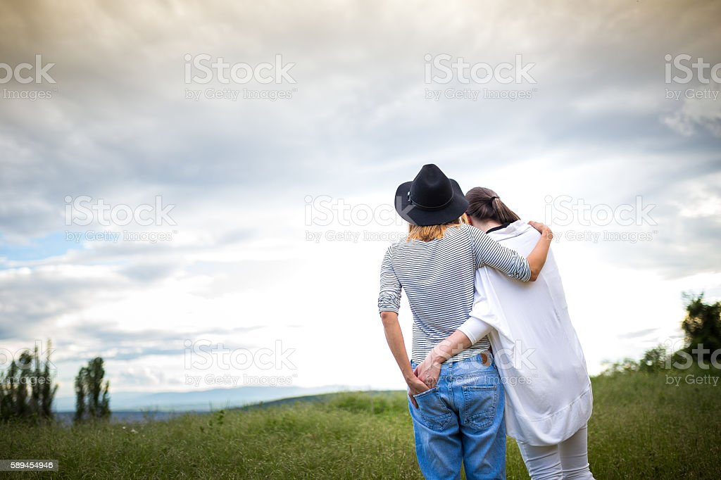 Love without boundaries stock photo