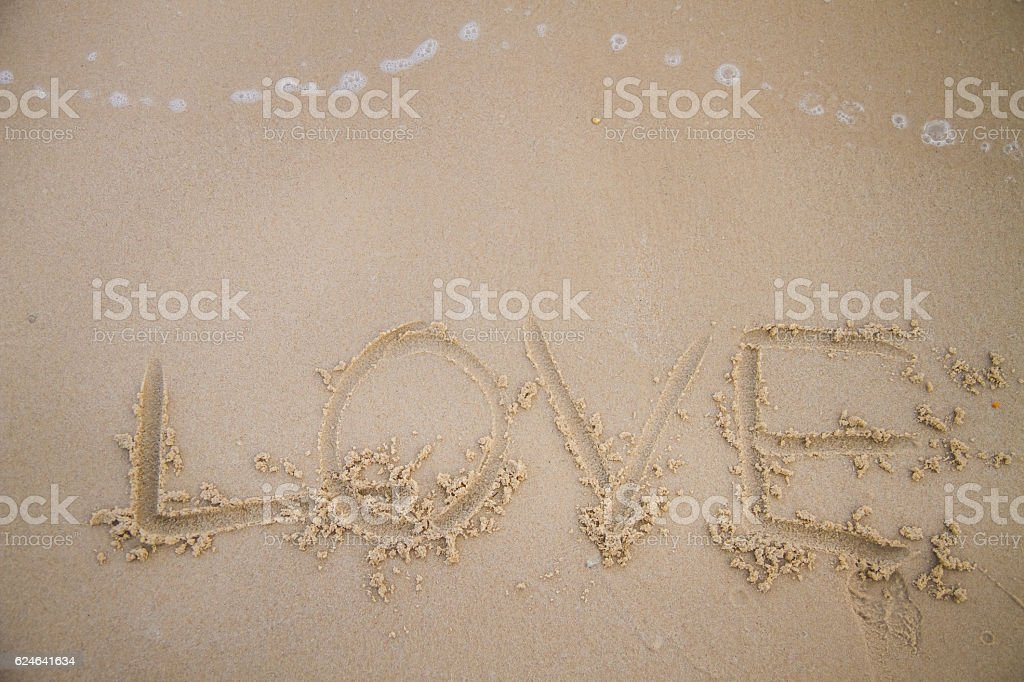 love words stock photo