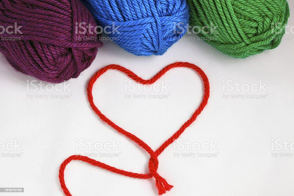 I love yarn! royalty-free stock photo