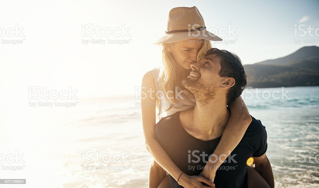 Love you babe stock photo
