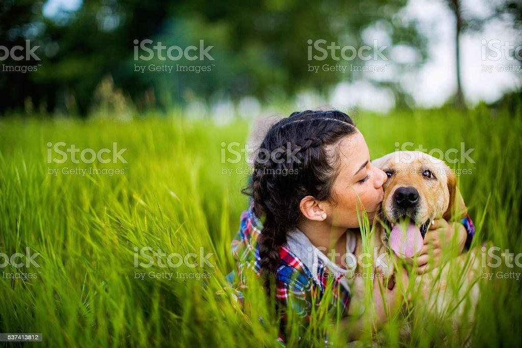 I love you cutie! stock photo