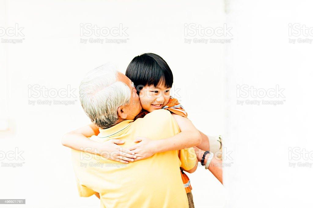 I Love You Grandpa royalty-free stock photo