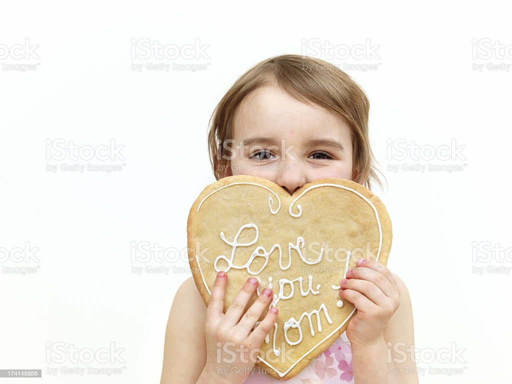 Love you mom royalty-free stock photo