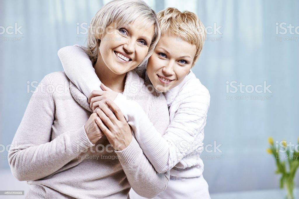 I love you, mom! royalty-free stock photo