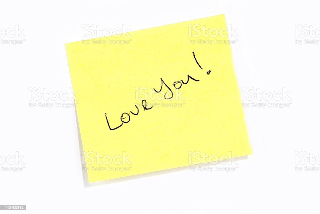 Love You! royalty-free stock photo
