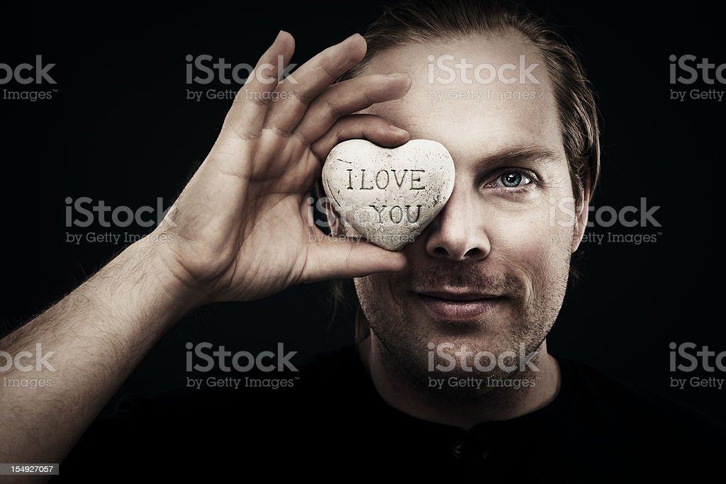I love you royalty-free stock photo
