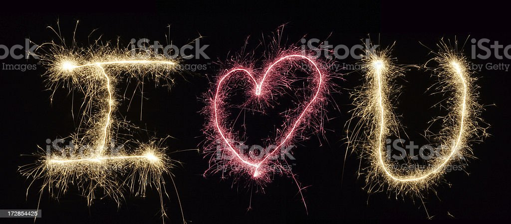 I love you royalty-free stock photo