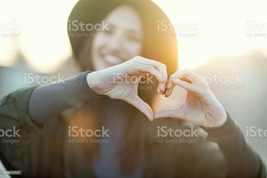 I love you stock photo