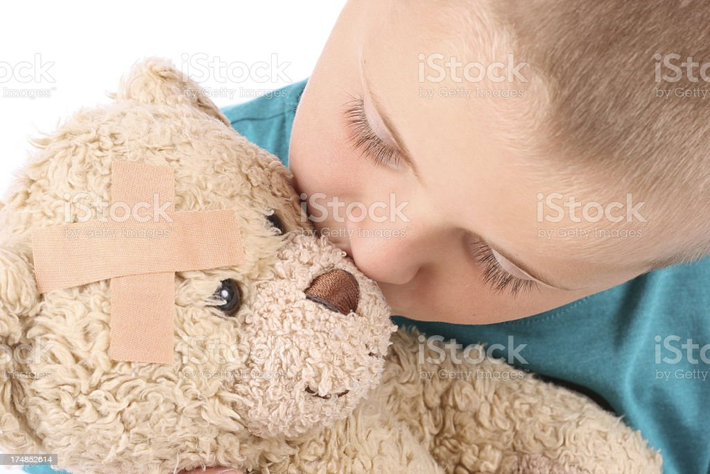 Love you teddy royalty-free stock photo