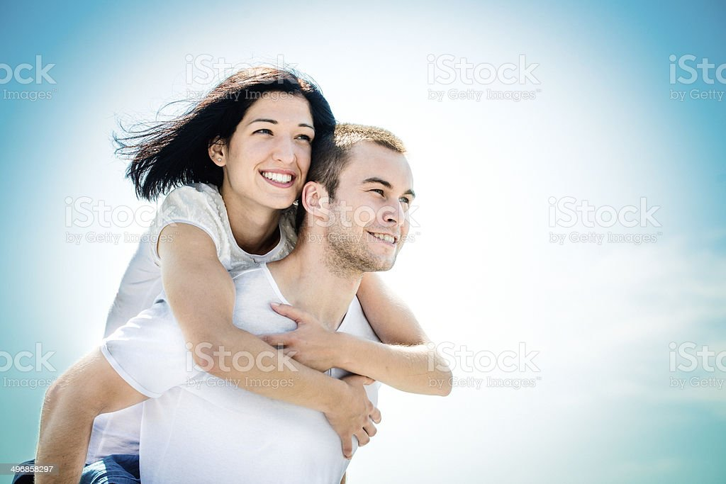 Love - young couple royalty-free stock photo