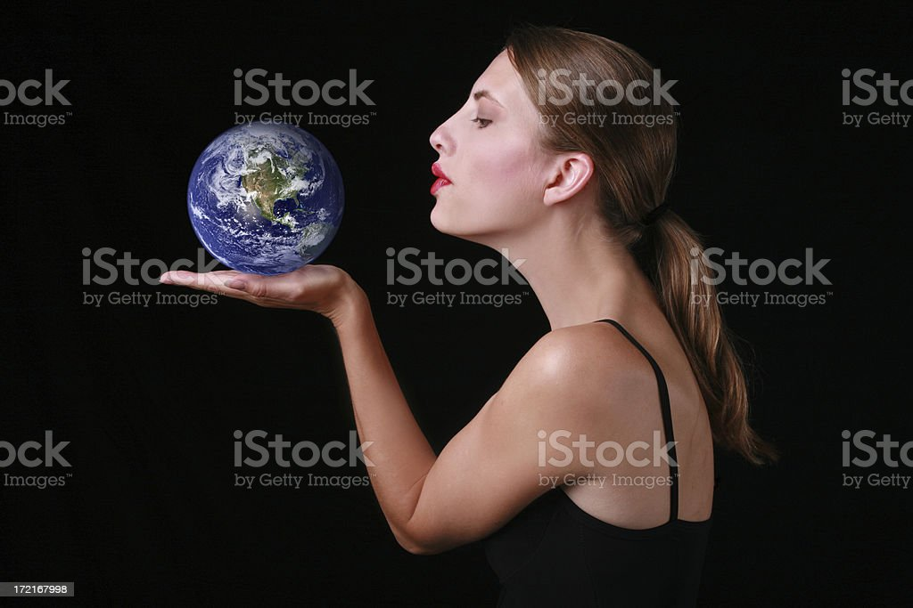 Love Your Earth royalty-free stock photo