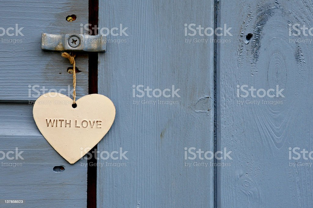 love your shed stock photo