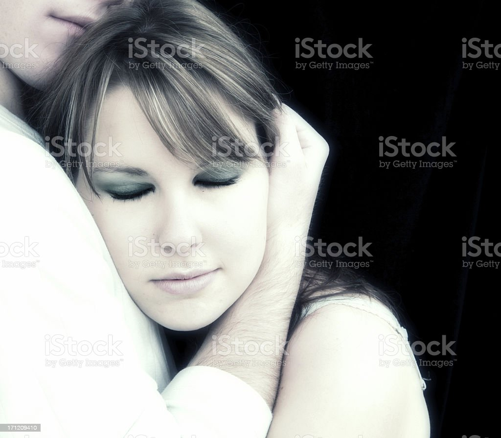 Loved and Safe royalty-free stock photo