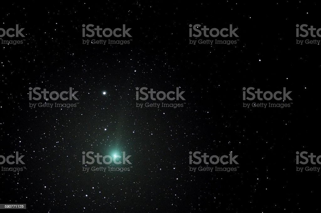 Lovejoy Comet C/2014 Q2 stock photo