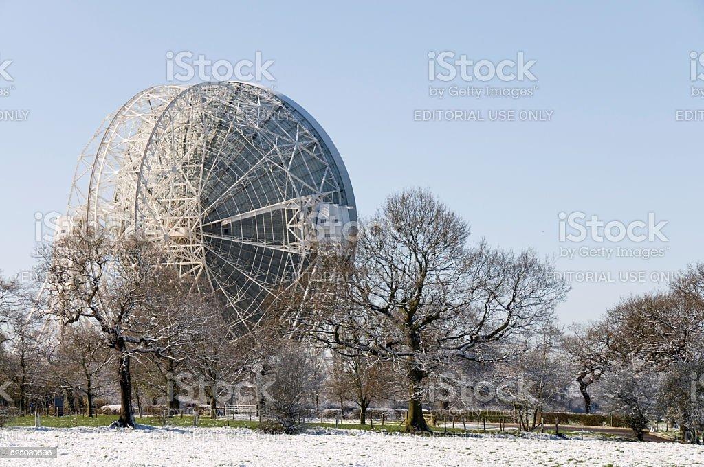 Lovel Telescope, Cheshire, UK stock photo