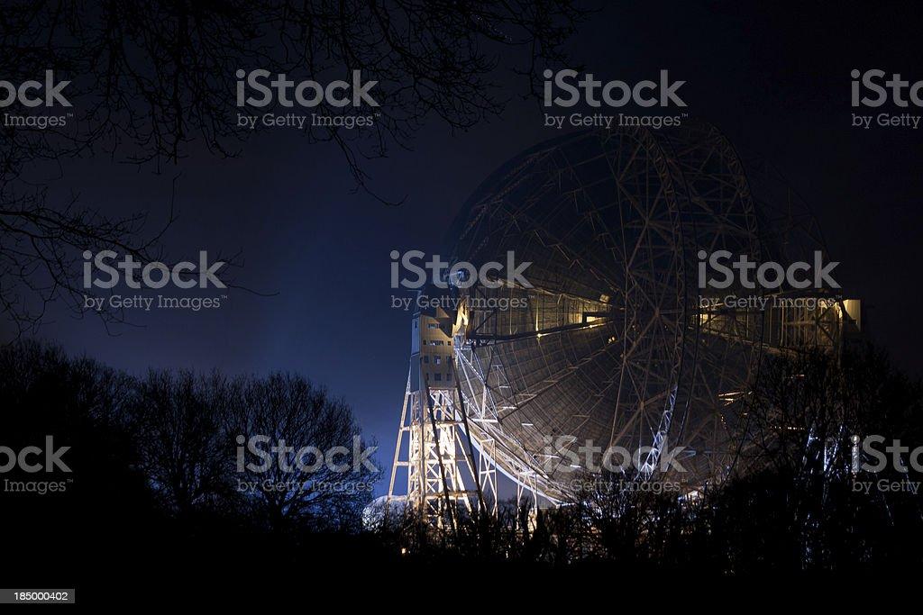 Lovell Radio Telescope, Jodrell Bank Observatory royalty-free stock photo