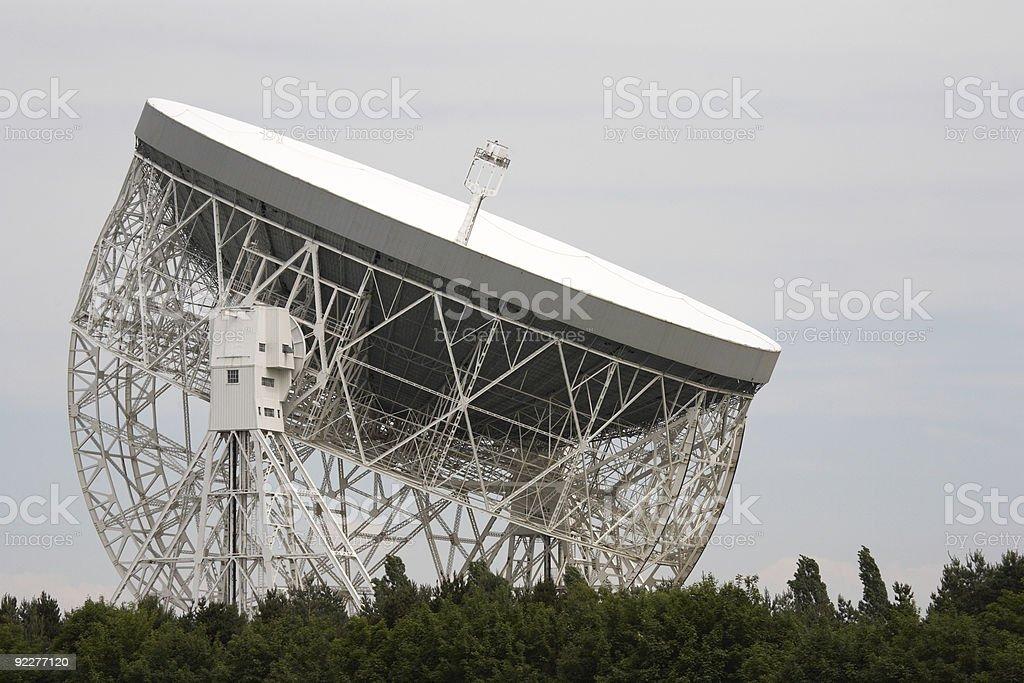 lovell radio telescope stock photo