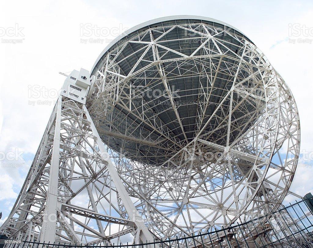 lovell telescope stock photo